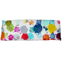 Colorful Diamonds Dream Body Pillow Case (dakimakura) by DanaeStudio