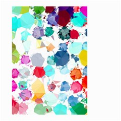 Colorful Diamonds Dream Small Garden Flag (two Sides) by DanaeStudio