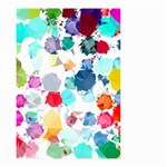 Colorful Diamonds Dream Small Garden Flag (Two Sides) Back