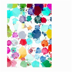 Colorful Diamonds Dream Large Garden Flag (two Sides) by DanaeStudio