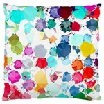 Colorful Diamonds Dream Large Cushion Case (Two Sides) Back