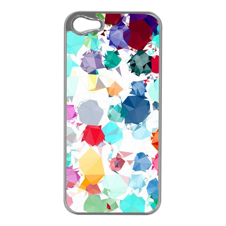 Colorful Diamonds Dream Apple iPhone 5 Case (Silver)