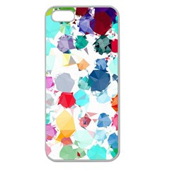 Colorful Diamonds Dream Apple Seamless Iphone 5 Case (clear) by DanaeStudio