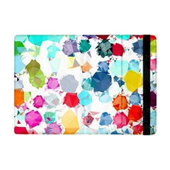 Colorful Diamonds Dream Apple Ipad Mini Flip Case by DanaeStudio