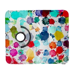 Colorful Diamonds Dream Samsung Galaxy S  Iii Flip 360 Case by DanaeStudio