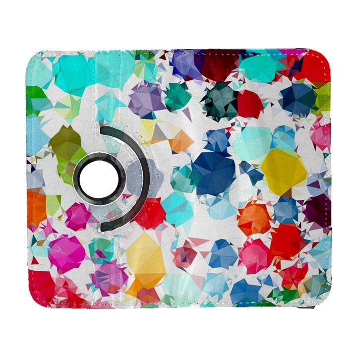 Colorful Diamonds Dream Samsung Galaxy S  III Flip 360 Case