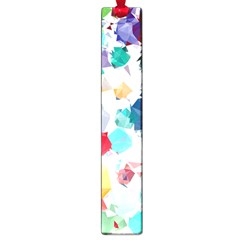 Colorful Diamonds Dream Large Book Marks by DanaeStudio