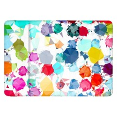 Colorful Diamonds Dream Samsung Galaxy Tab 8 9  P7300 Flip Case by DanaeStudio