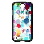 Colorful Diamonds Dream Samsung Galaxy S4 I9500/ I9505 Case (Black) Front