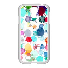 Colorful Diamonds Dream Samsung Galaxy S4 I9500/ I9505 Case (white) by DanaeStudio