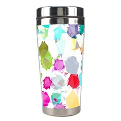 Colorful Diamonds Dream Stainless Steel Travel Tumblers by DanaeStudio