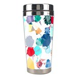 Colorful Diamonds Dream Stainless Steel Travel Tumblers Center