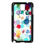 Colorful Diamonds Dream Samsung Galaxy Note 3 N9005 Case (Black) Front