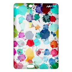 Colorful Diamonds Dream Amazon Kindle Fire Hd (2013) Hardshell Case by DanaeStudio