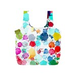 Colorful Diamonds Dream Full Print Recycle Bags (S)