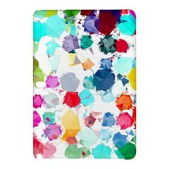 Colorful Diamonds Dream Samsung Galaxy Tab Pro 12 2 Hardshell Case by DanaeStudio