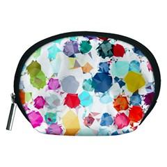 Colorful Diamonds Dream Accessory Pouches (medium)  by DanaeStudio