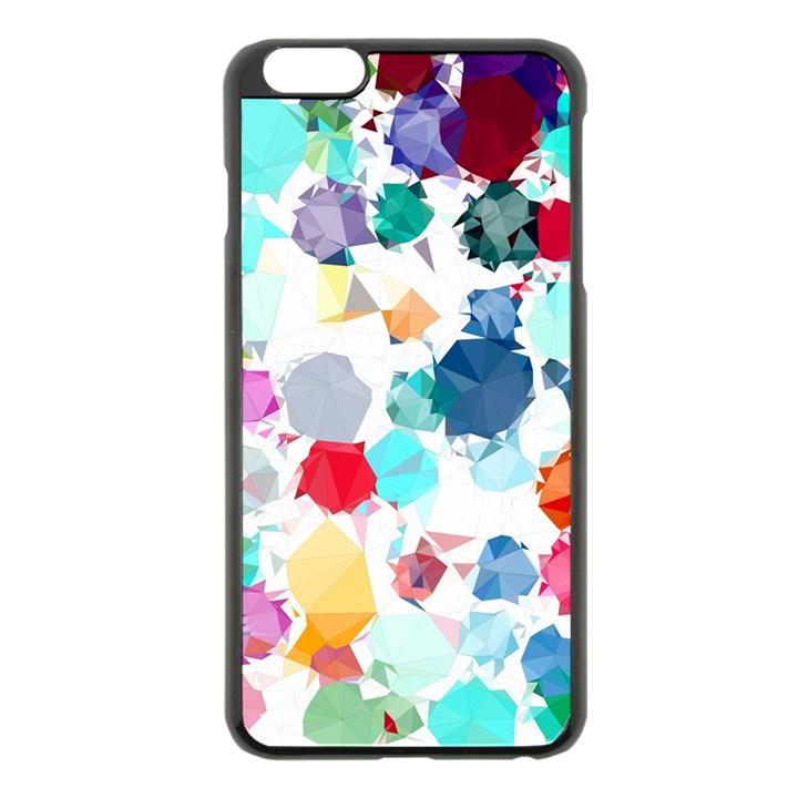 Colorful Diamonds Dream Apple iPhone 6 Plus/6S Plus Black Enamel Case