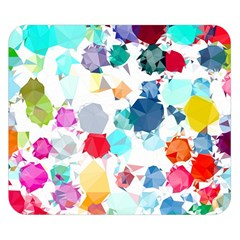 Colorful Diamonds Dream Double Sided Flano Blanket (small)  by DanaeStudio