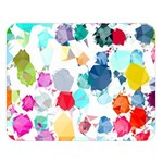 Colorful Diamonds Dream Double Sided Flano Blanket (Large)  80 x60 Blanket Front