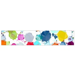 Colorful Diamonds Dream Flano Scarf (small)