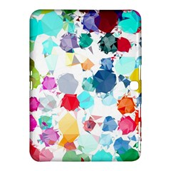 Colorful Diamonds Dream Samsung Galaxy Tab 4 (10 1 ) Hardshell Case  by DanaeStudio