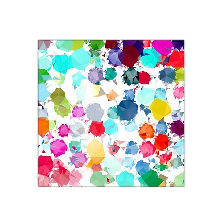 Colorful Diamonds Dream Satin Bandana Scarf