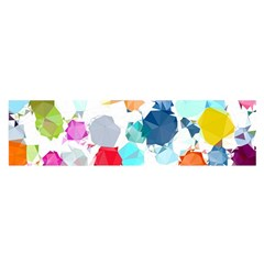 Colorful Diamonds Dream Satin Scarf (oblong)