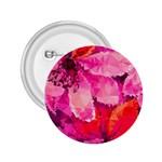 Geometric Magenta Garden 2.25  Buttons Front