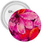 Geometric Magenta Garden 3  Buttons Front