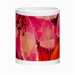 Geometric Magenta Garden Night Luminous Mugs Center