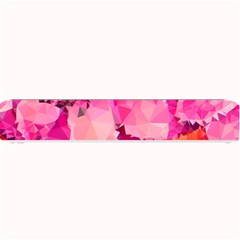 Geometric Magenta Garden Small Bar Mats by DanaeStudio