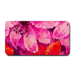 Geometric Magenta Garden Medium Bar Mats by DanaeStudio