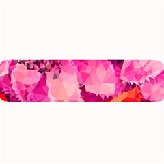 Geometric Magenta Garden Large Bar Mats by DanaeStudio