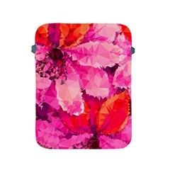 Geometric Magenta Garden Apple iPad 2/3/4 Protective Soft Cases