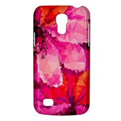 Geometric Magenta Garden Galaxy S4 Mini by DanaeStudio