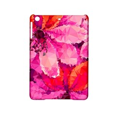 Geometric Magenta Garden iPad Mini 2 Hardshell Cases