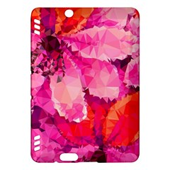Geometric Magenta Garden Kindle Fire Hdx Hardshell Case by DanaeStudio