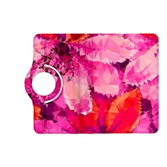Geometric Magenta Garden Kindle Fire HD (2013) Flip 360 Case