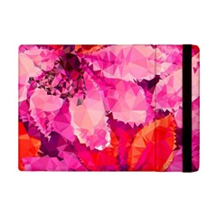 Geometric Magenta Garden Ipad Mini 2 Flip Cases by DanaeStudio