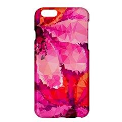 Geometric Magenta Garden Apple iPhone 6 Plus/6S Plus Hardshell Case