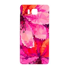 Geometric Magenta Garden Samsung Galaxy Alpha Hardshell Back Case by DanaeStudio