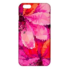 Geometric Magenta Garden Iphone 6 Plus/6s Plus Tpu Case by DanaeStudio