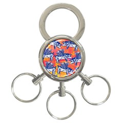 Little Flying Pigs 3 Ring Key Chains