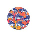 Little Flying Pigs Magnet 3  (Round)