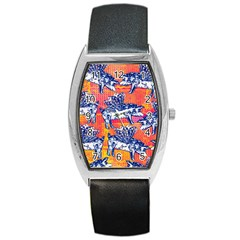 Little Flying Pigs Barrel Style Metal Watch by DanaeStudio