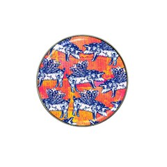 Little Flying Pigs Hat Clip Ball Marker (10 Pack) by DanaeStudio