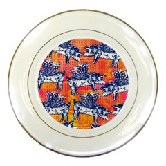 Little Flying Pigs Porcelain Plates by DanaeStudio