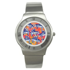 Little Flying Pigs Stainless Steel Watch by DanaeStudio
