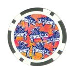 Little Flying Pigs Poker Chip Card Guards Back
